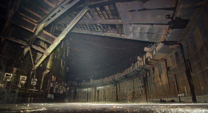 Заброшенная база по производству ракет, город Рига, Латвия