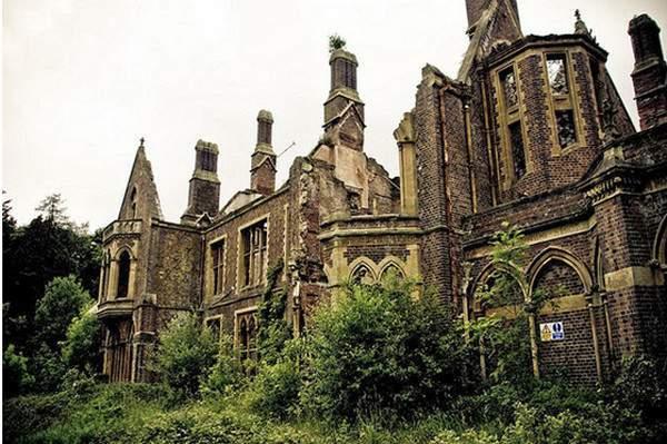 Хафодунос, заброшенный особняк в Северном Уэльсе, Англия