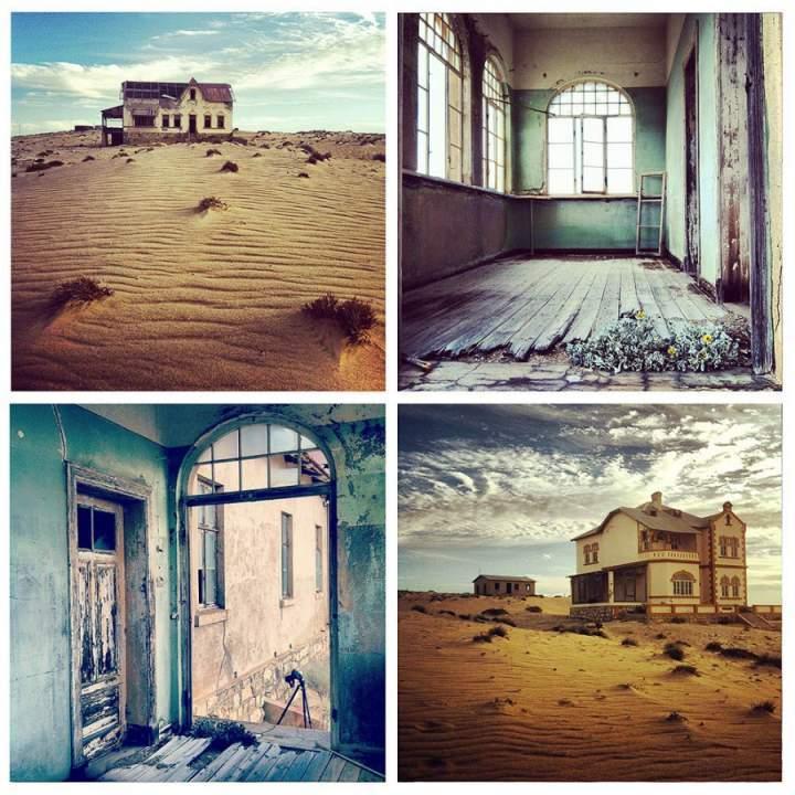 Колманскоп, пустыня Намиб