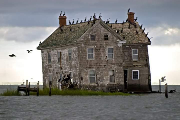 Голландский остров в заливе Чесапик
