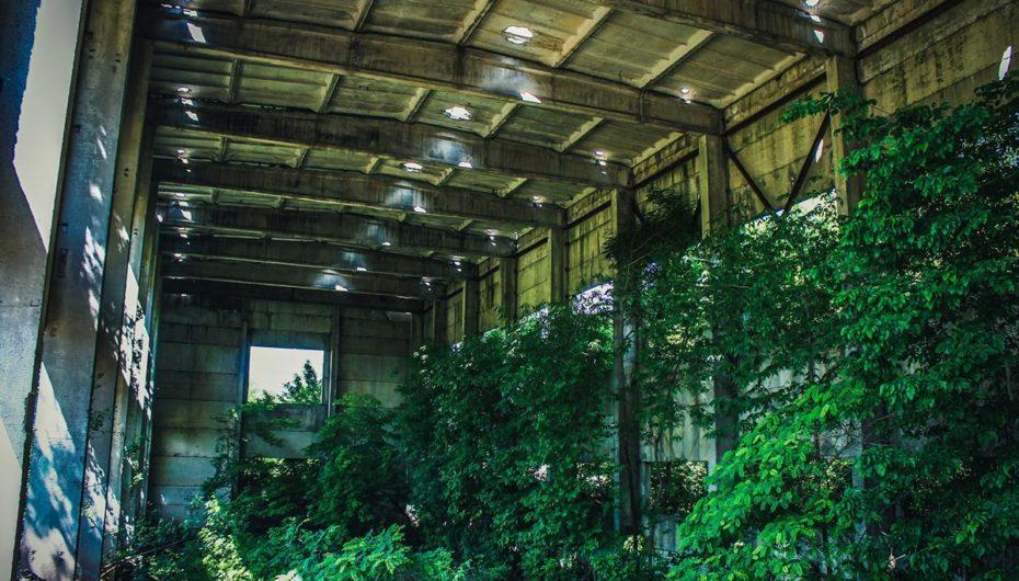 Заброшенный водоочистной завод (Россия, Ростов-на-Дону)