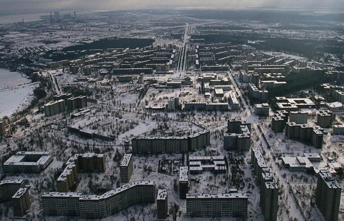 Город-призрак Припять.