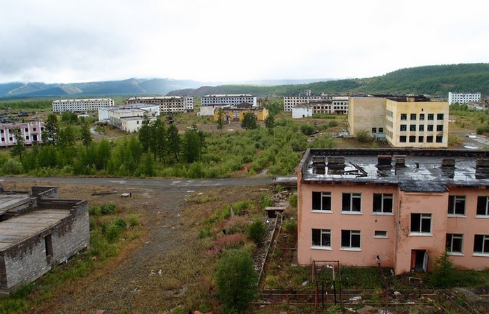 Воспоминания о Советском Союзе: городок Кадыкчан.