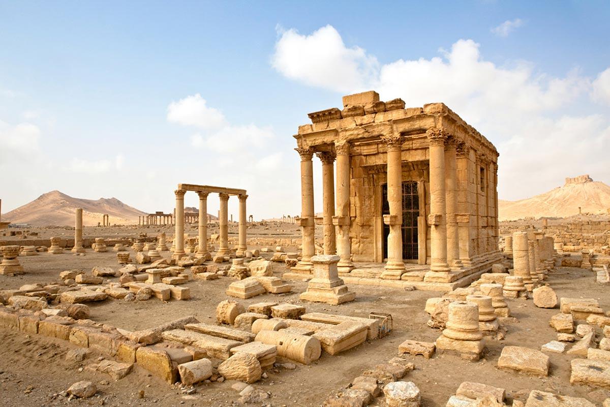 Руины величественной Пальмиры