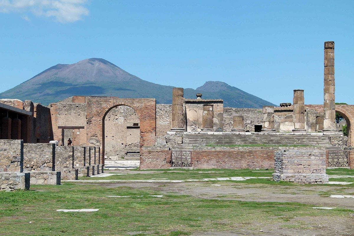 Остатки Помпеи