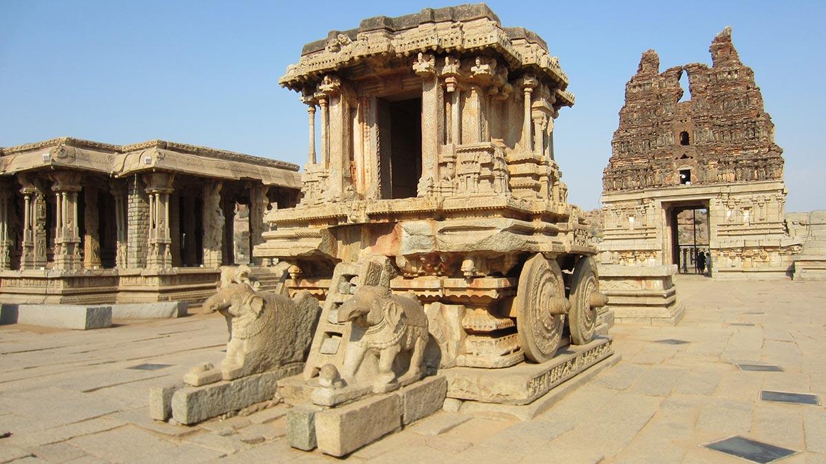 Виджаянагар - легендарный древний город, пообеждённый временем