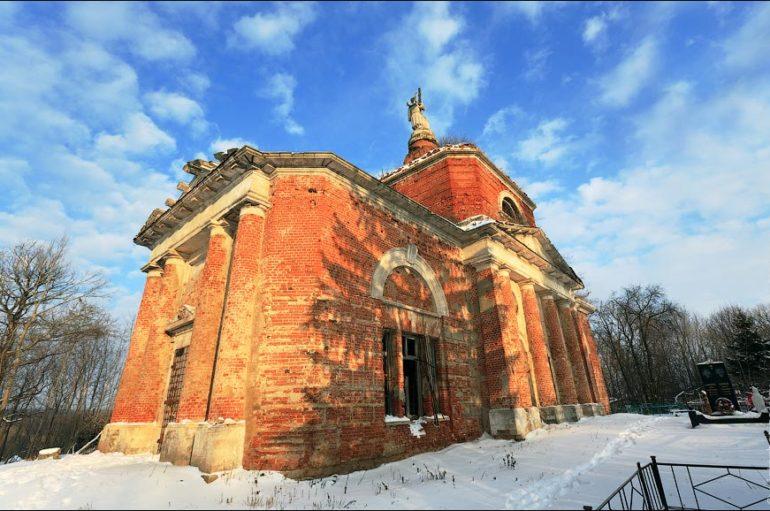 Старые церкви и усадьбы Тульской области