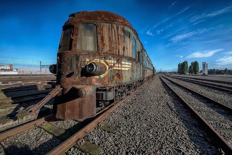 """Поезд-призрак Восточный экспресс"""" в Бельгии"""