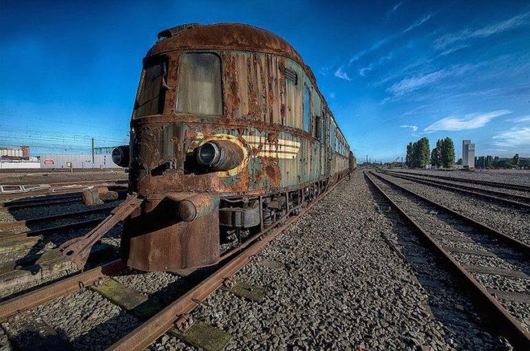 Поезд-призрак «Восточный экспресс» в Бельгии