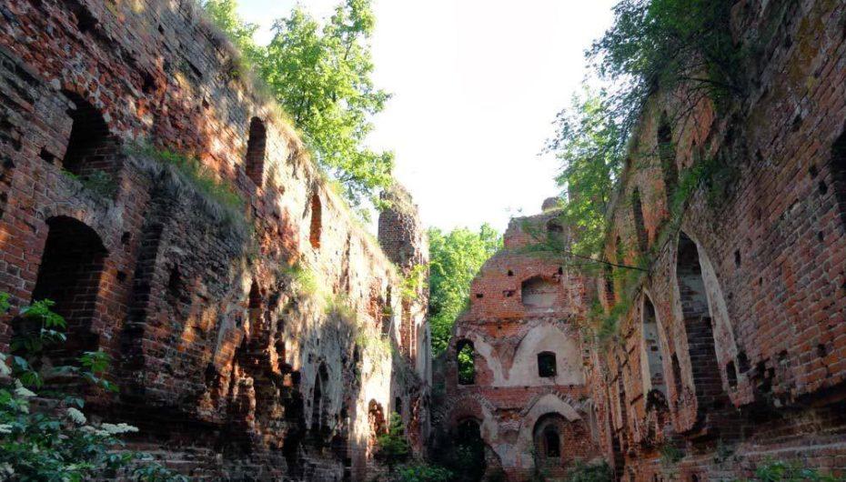 Замок Бальга в Калининградской области