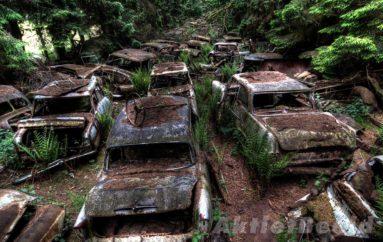 История исчезнувшего автомобильного кладбища