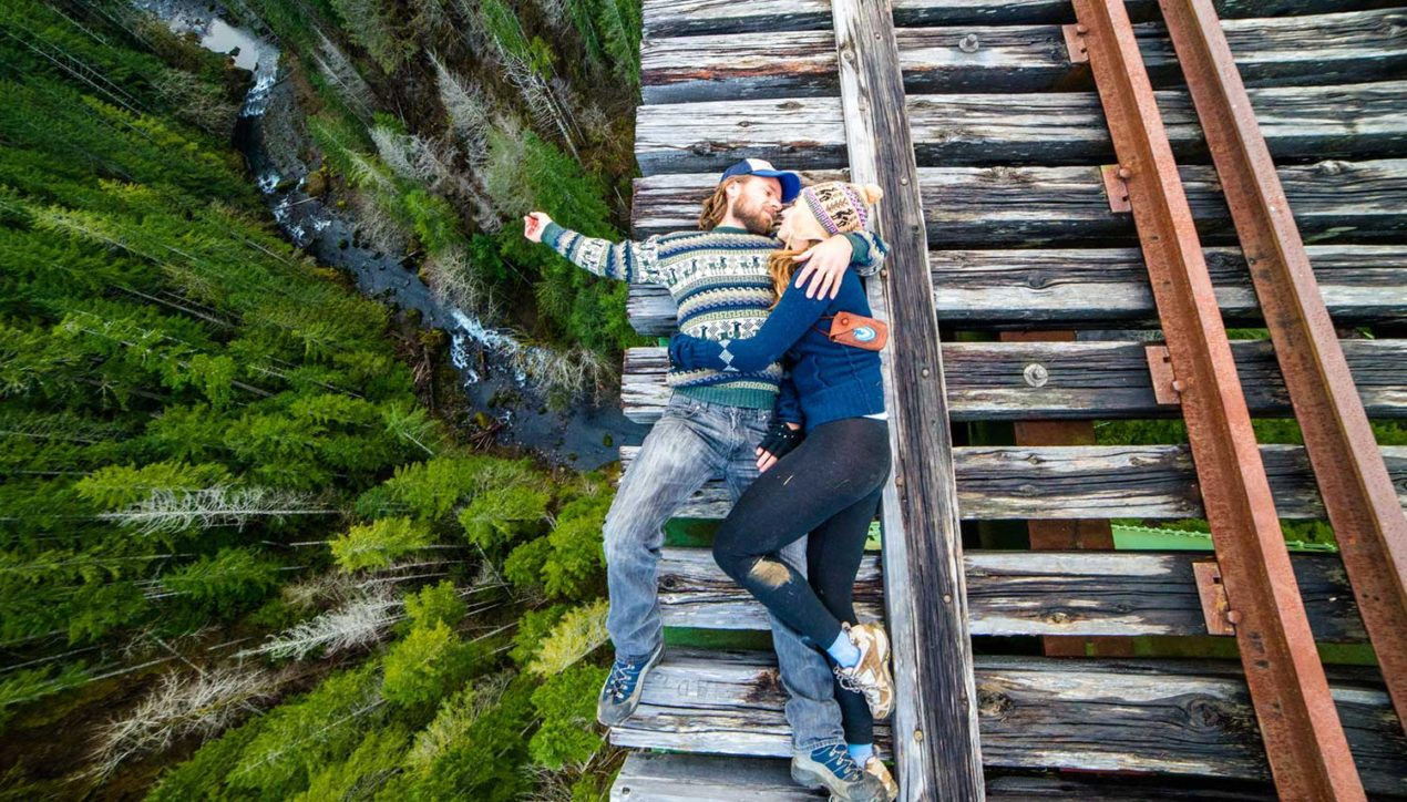 Самый высокий заброшенный мост в США