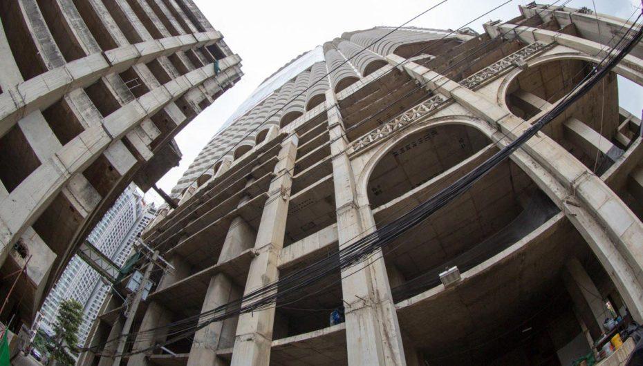 Самый высокий заброшенный небоскреб в мире | Фото