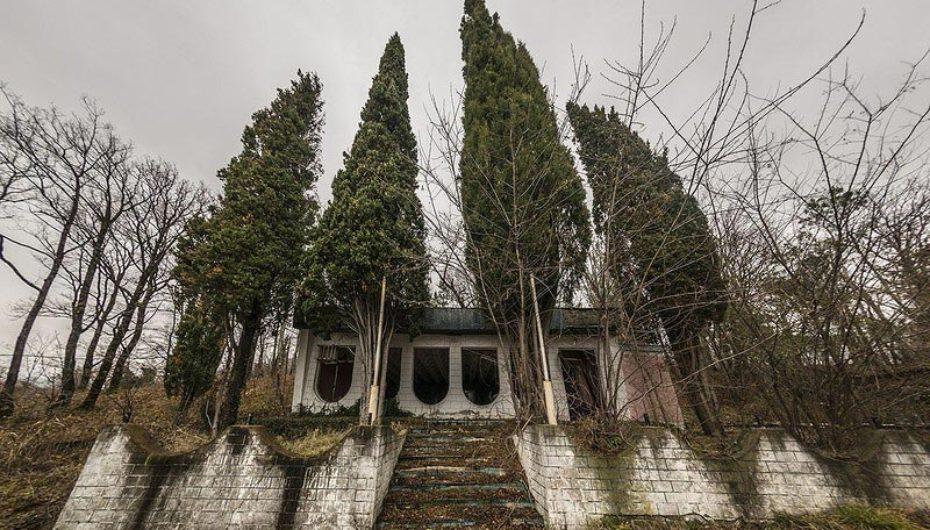 Заброшенный дом отдыха Центросоюза «Кубань»