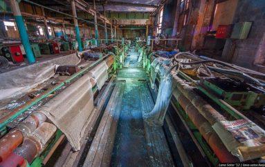 В гостях у Фредди | Сгоревшая и заброшенная текстильная фабрика