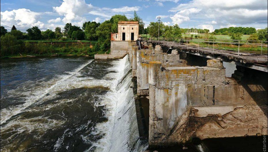 Заброшенная Лыковская ГЭС