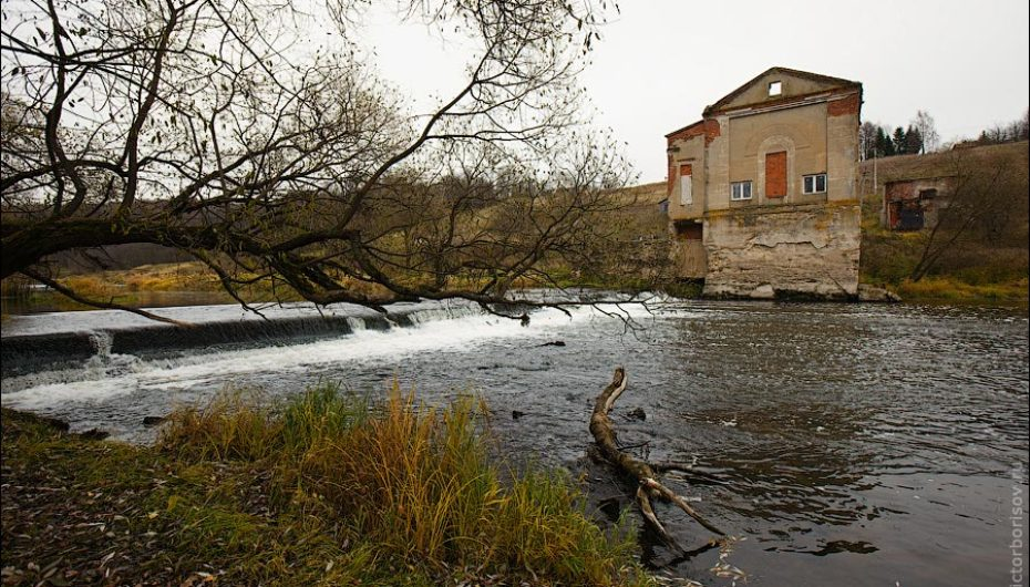Булгаковская ГЭС на реке Нара