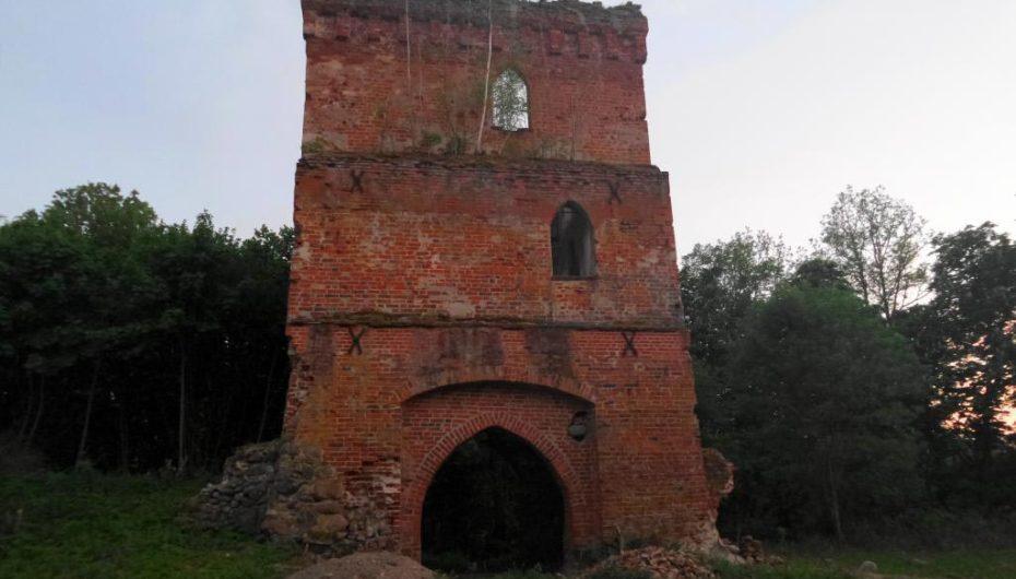 Замок Гросс Вонсдорф в Калининградской области