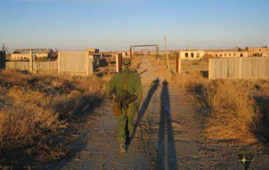 Сталкеры показали, что осталось от города Аральск-7 и полигона Бархан