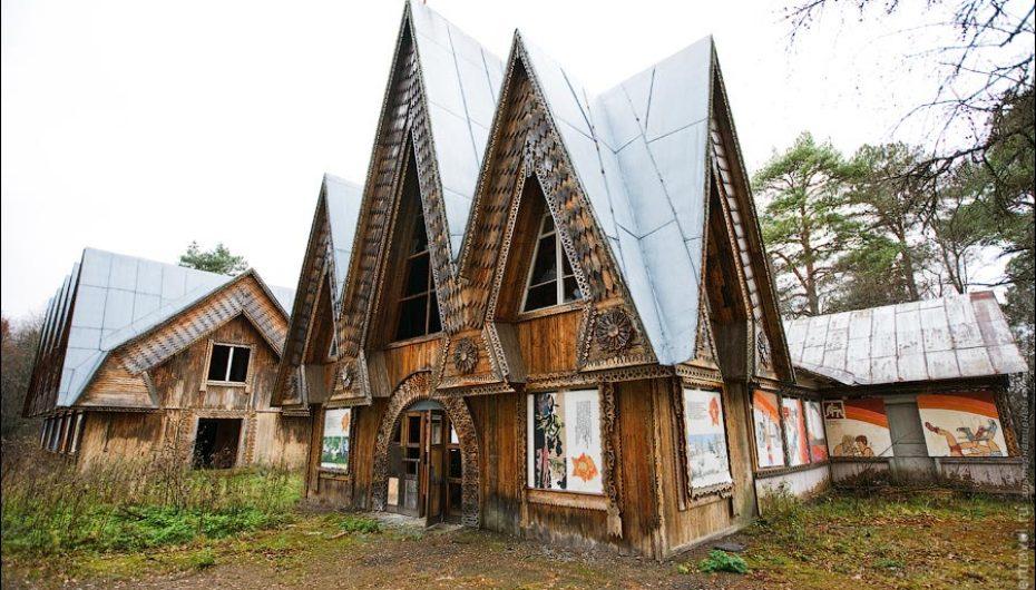 Уцелевший пионерский лагерь «Ясная горка»