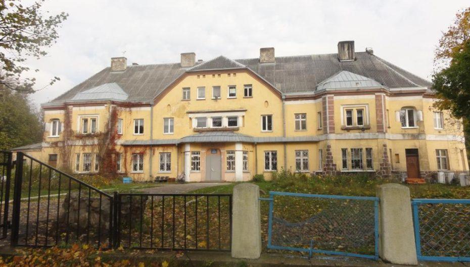 Замок Лаукен в Калининградской области