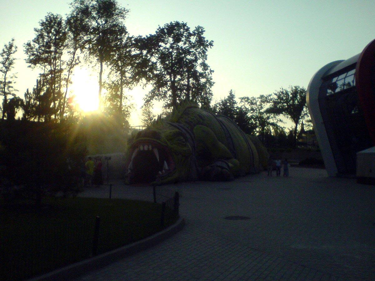 """""""Дракон"""" в парке Щербакова (Донецк)"""