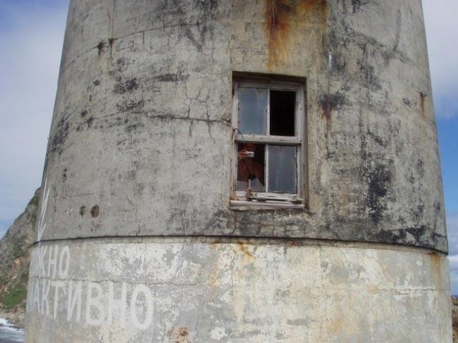 Атомный маяк на мысе Анива