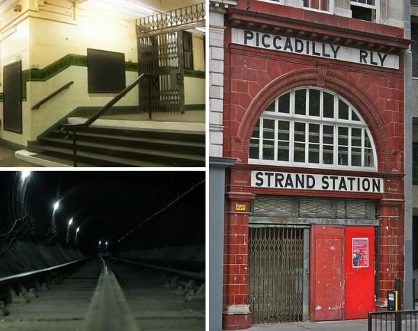 Заброшенный Лондонский метрополитен