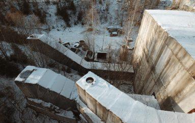 Заброшенный многоэтажный военный бункер в Подмосковье