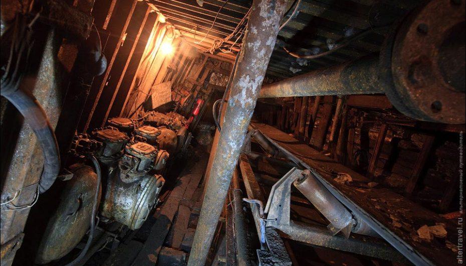 Заброшенная угольная шахта «Подмосковная»