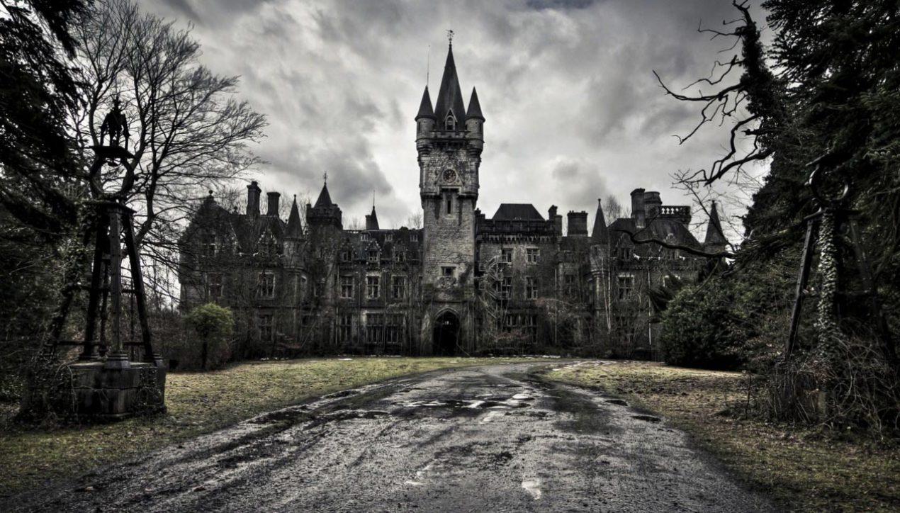 Заброшенный замок Chateau Miranda