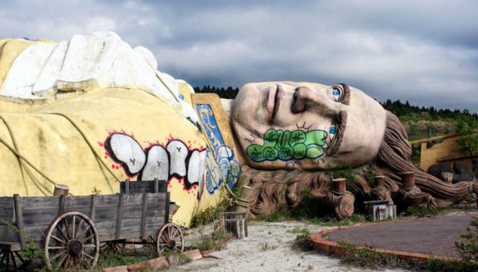 Застывший ужас | 10 заброшенных парков развлечений
