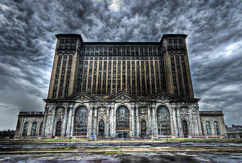 Центральный вокзал Мичиган, Детройт