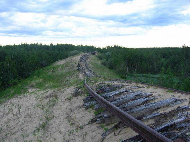 Железная дорога Чум — Салехард — Игарка