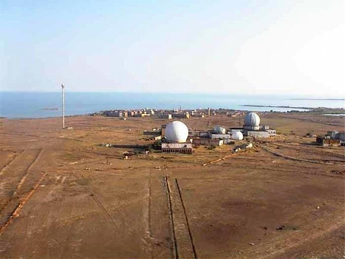 Сары-Шаганский полигон, Казахстан