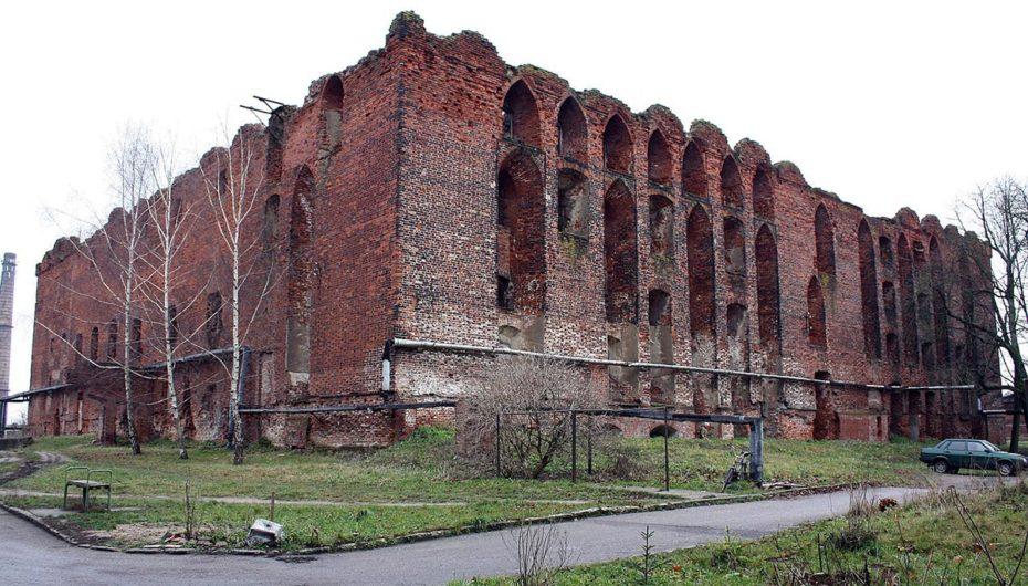 Замок Рагнит в Калининградской области