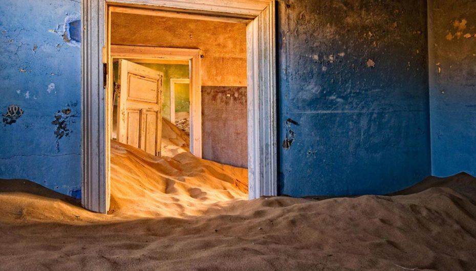 Город-призрак в песках Намибии