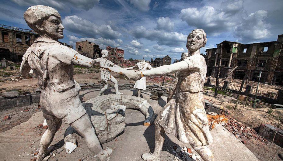 Рукотворные руины для фильма «Сталинград»