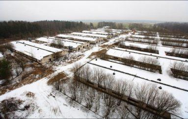 Заброшенная свиноферма в Московской области