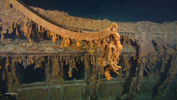 Затонувший Титаник