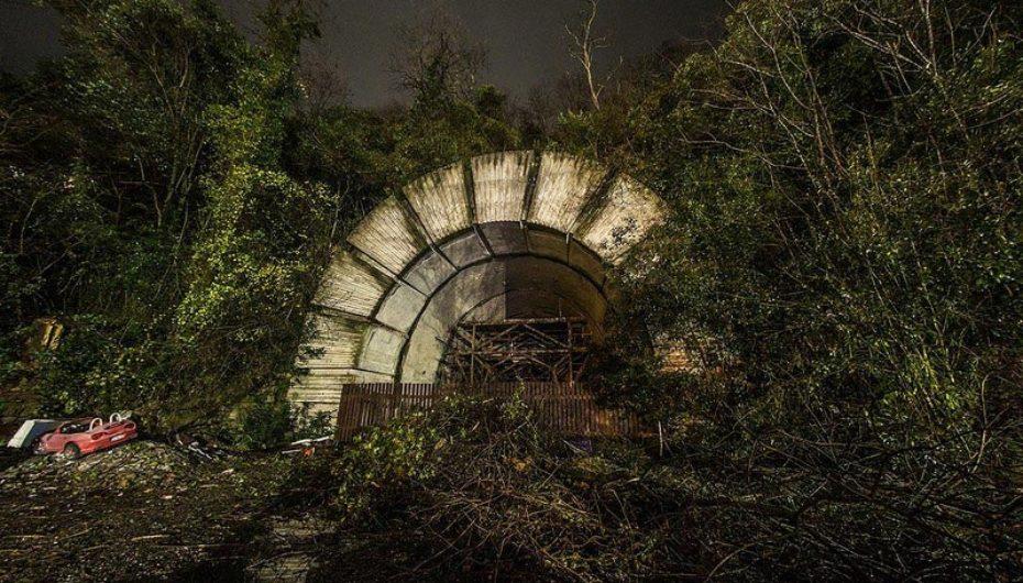 Заброшенный недостроенный тоннель объездной дороги | Фоторепортаж
