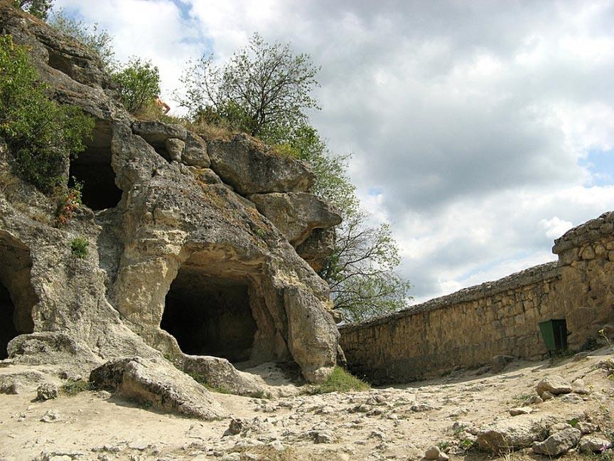 Древний город Чуфут-Кале, Бахчисарай, Россия