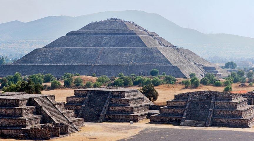 Древний городТеотиуакан, Мексика