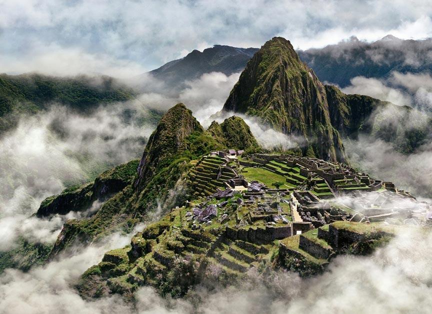 Древний городМачу-Пикчу, Перу