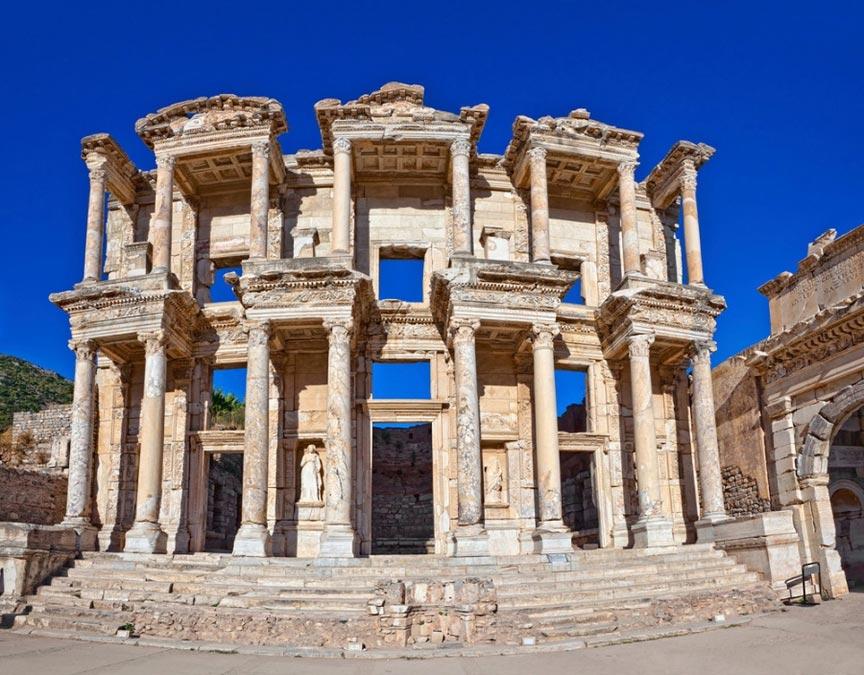 Развалины древнего Эфеса, Турция