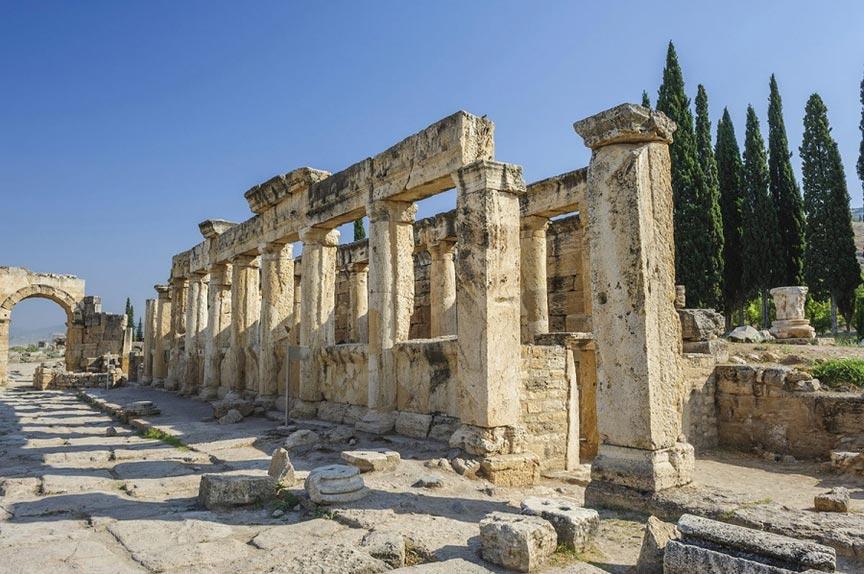 Древний городИераполис, Турция