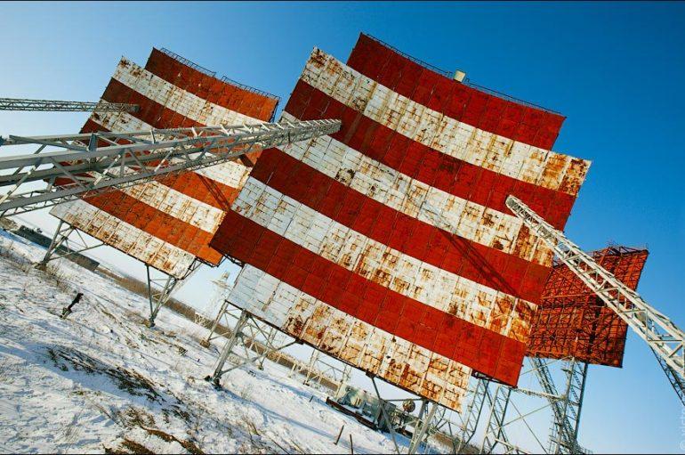 Заброшенная тропосферная радиорелейная линия связи «Север» («Горизонт»)