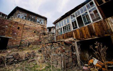 Невероятная заброшенная деревня в Грузии