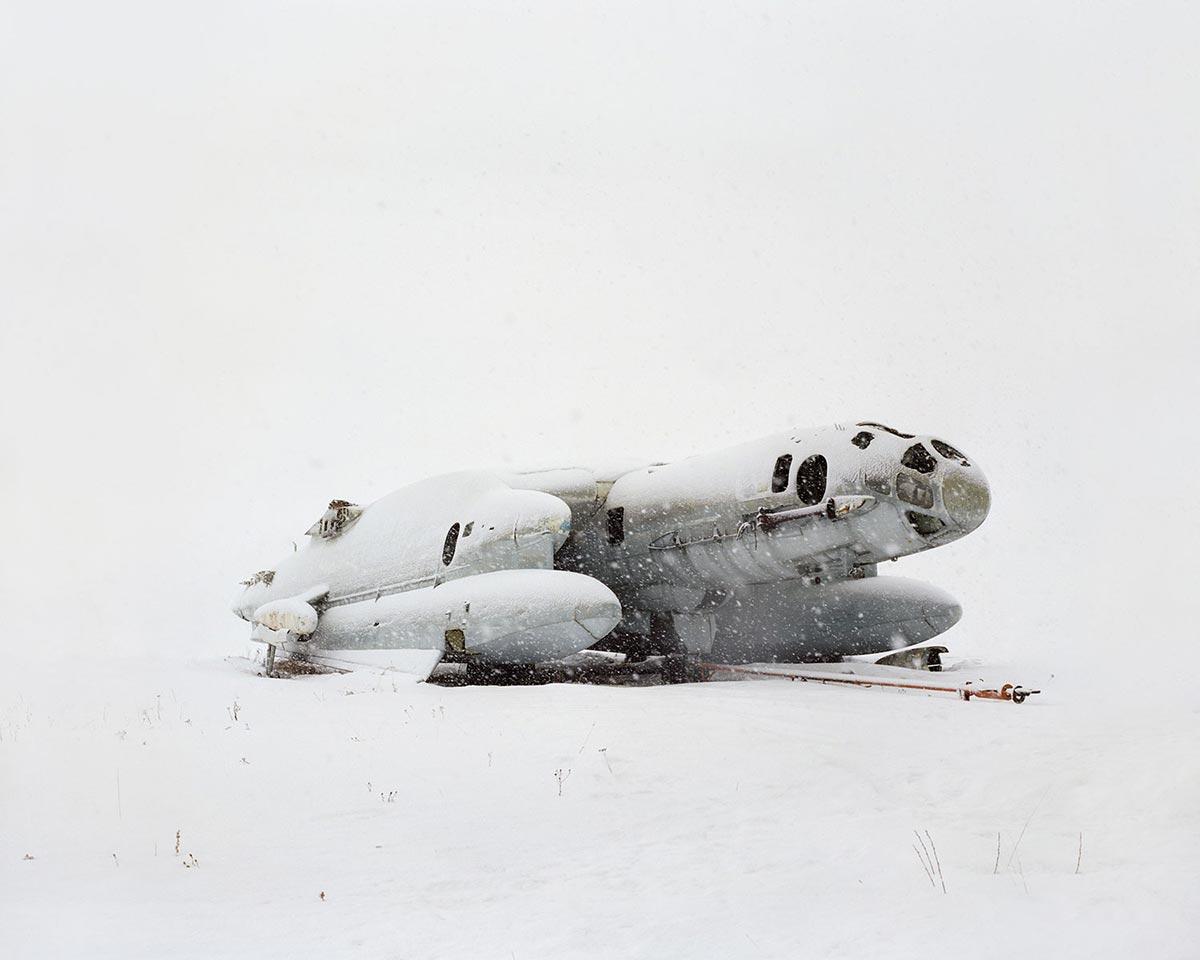 Самолёт-амфибия вертикального взлёта и посадки ВВА-14. В СССР были построены только две такие машины в 1976 году, одна из которых потерпела крушение. Россия, Московская область.