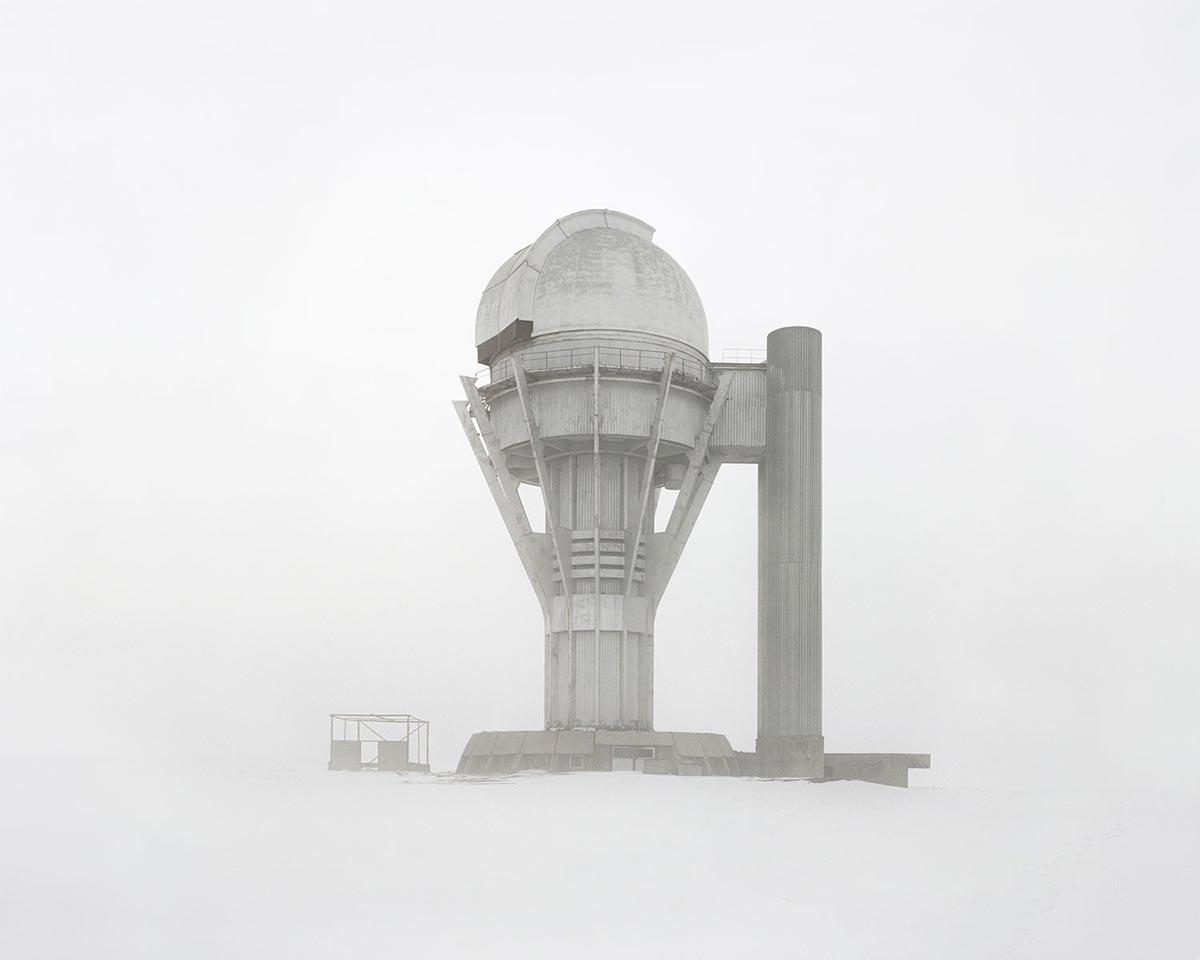Заброшенная обсерватория. Казахстан, Алматинская область.